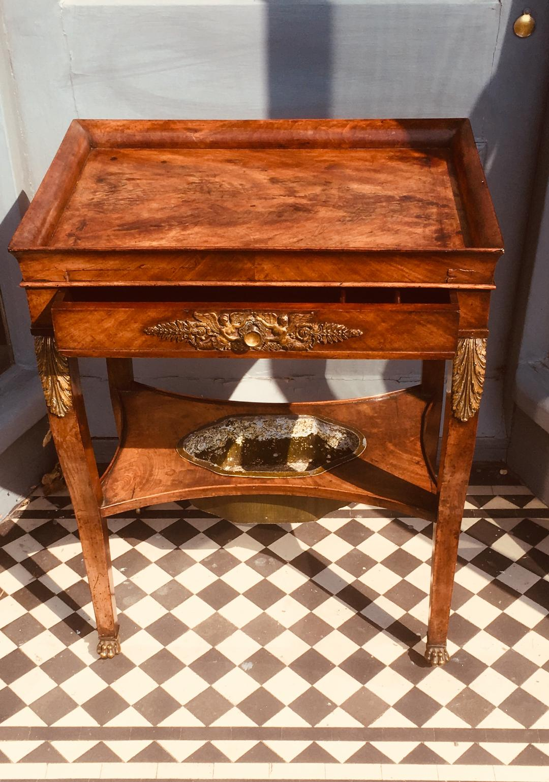 19c French Empire Table
