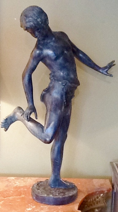 Bronze Statue of Boy