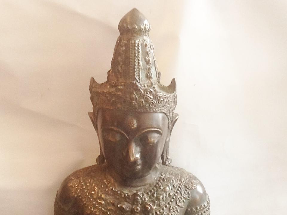 Bronze Statue Of Buddha Antique Bronze Statues And Ornaments
