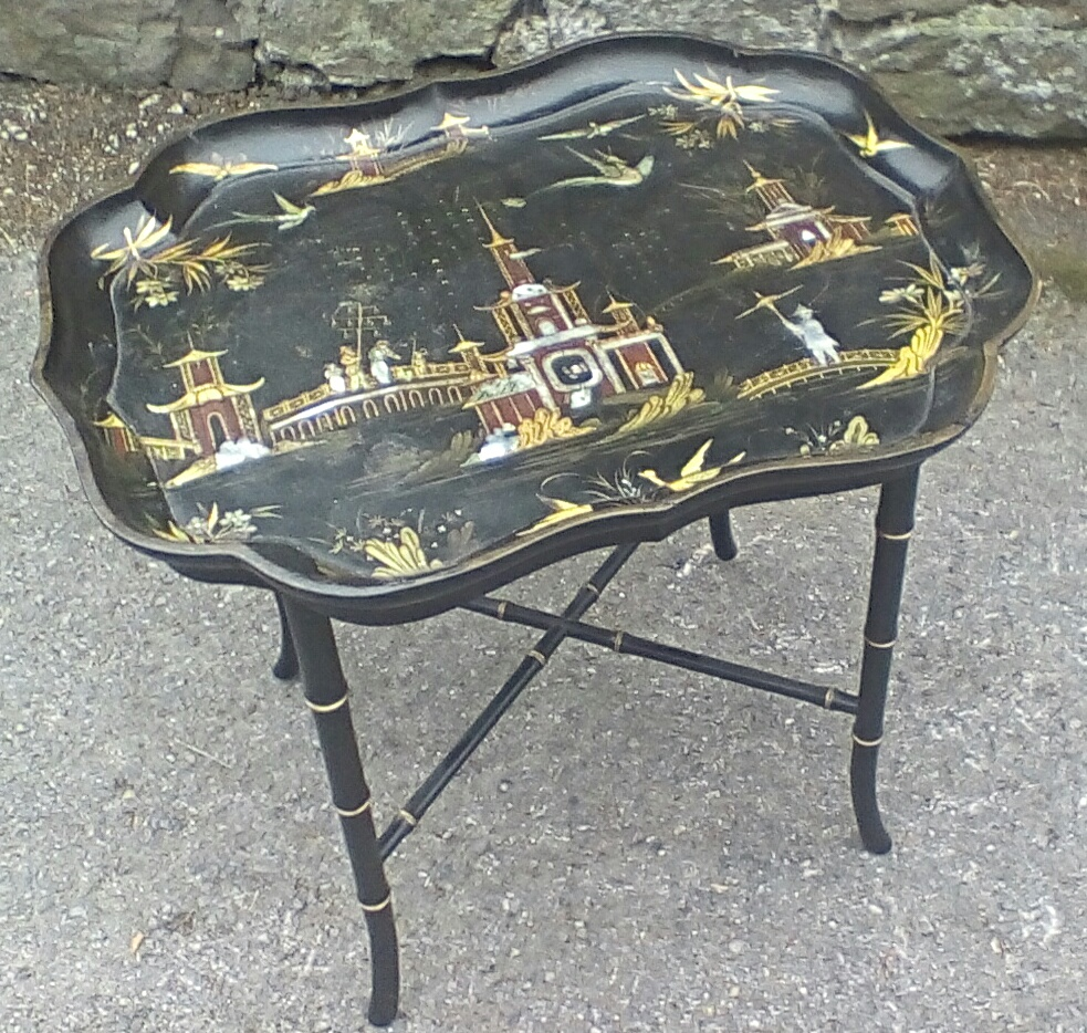 Chinoiserie Tray Top Table