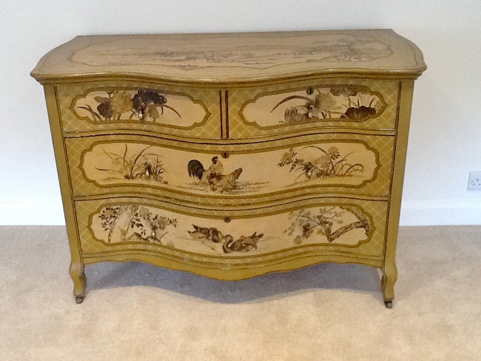 English Country Commode