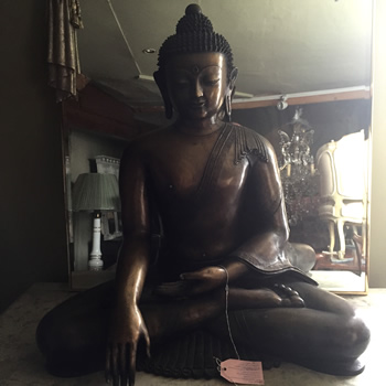 Large Figure of a Budha