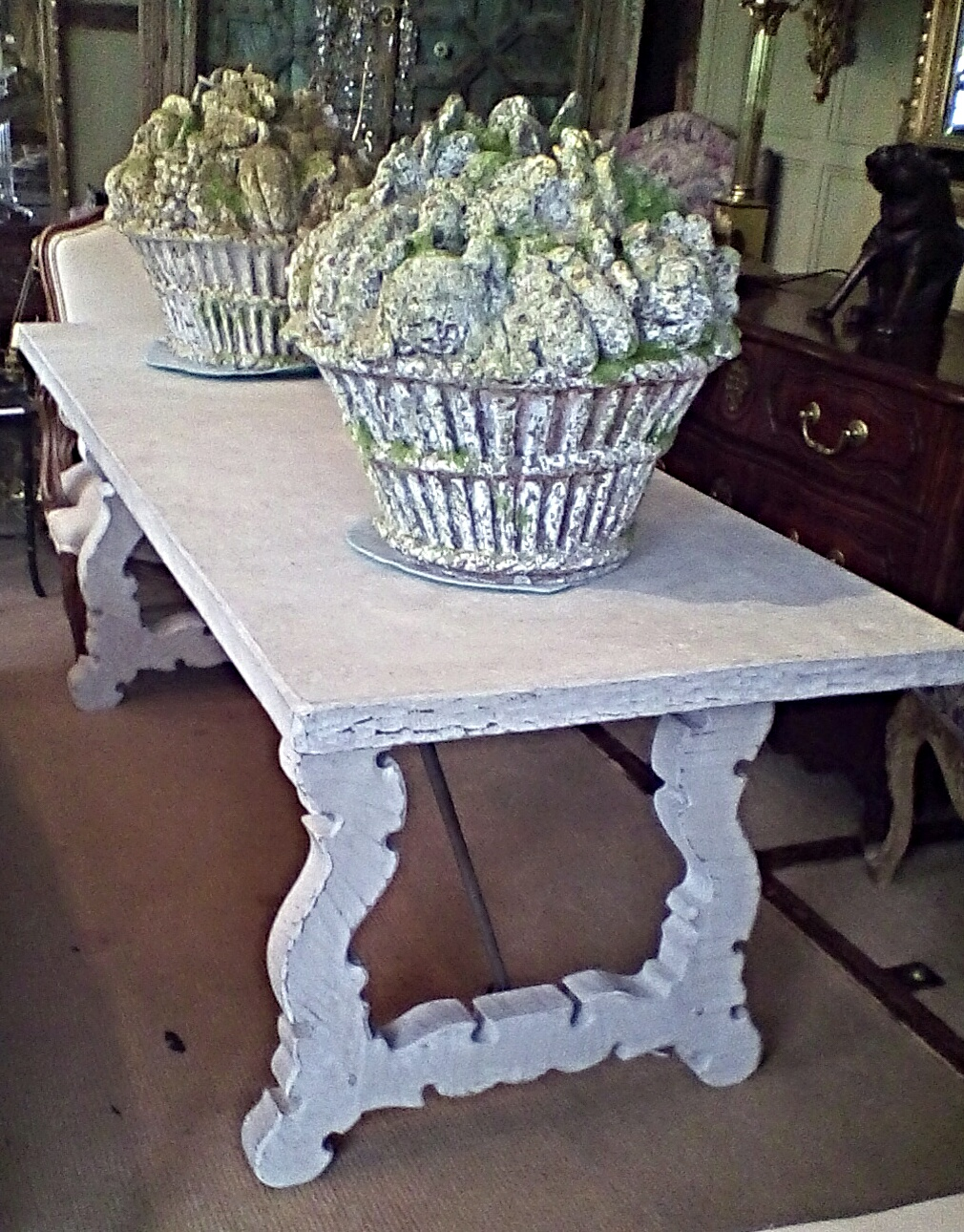 Painted Spanish Dining Table