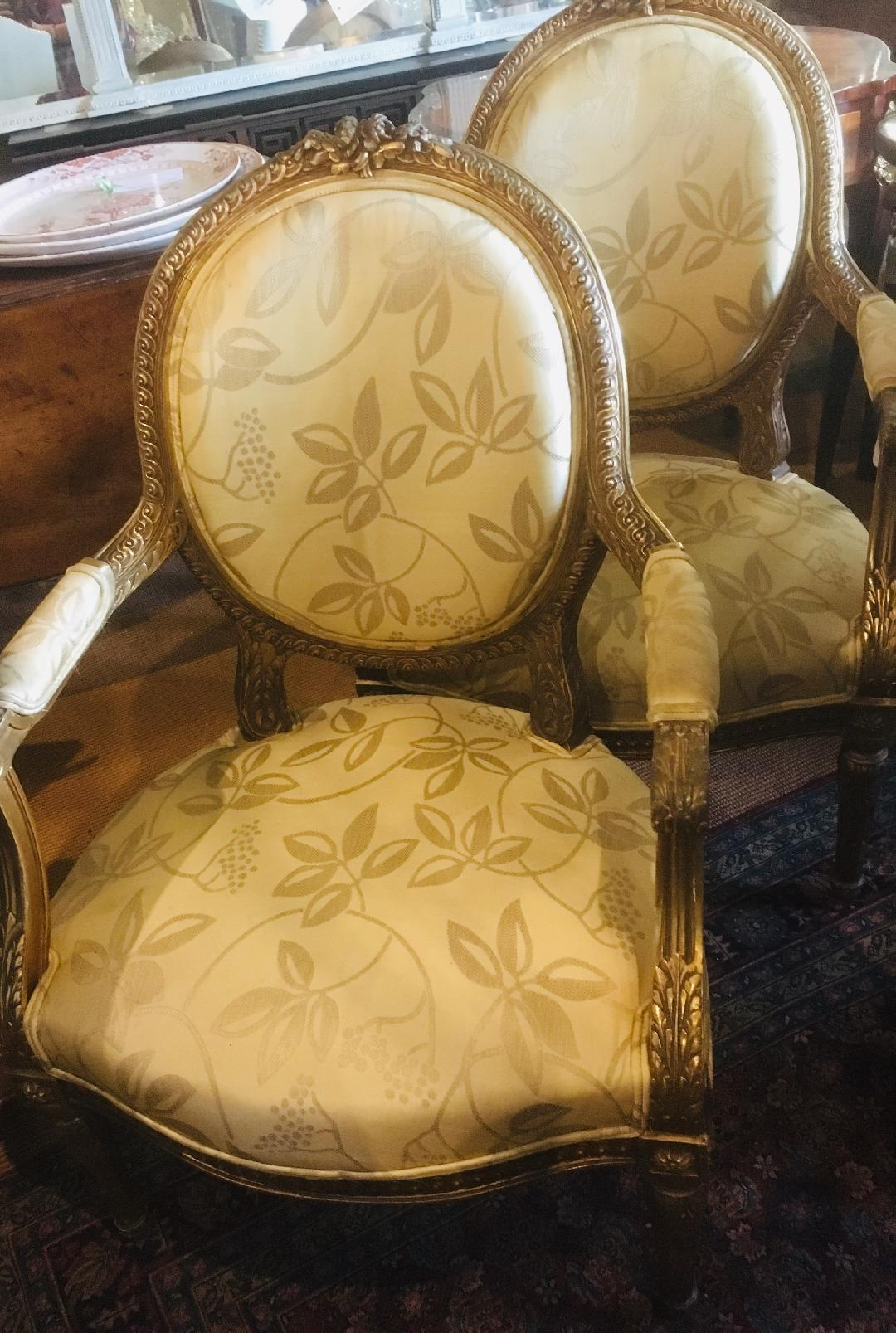 Pair of 19th century French Chairs