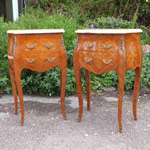 Pair of French Lamp / Bedside Tables