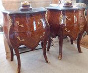 Pair of French Lamp Tables