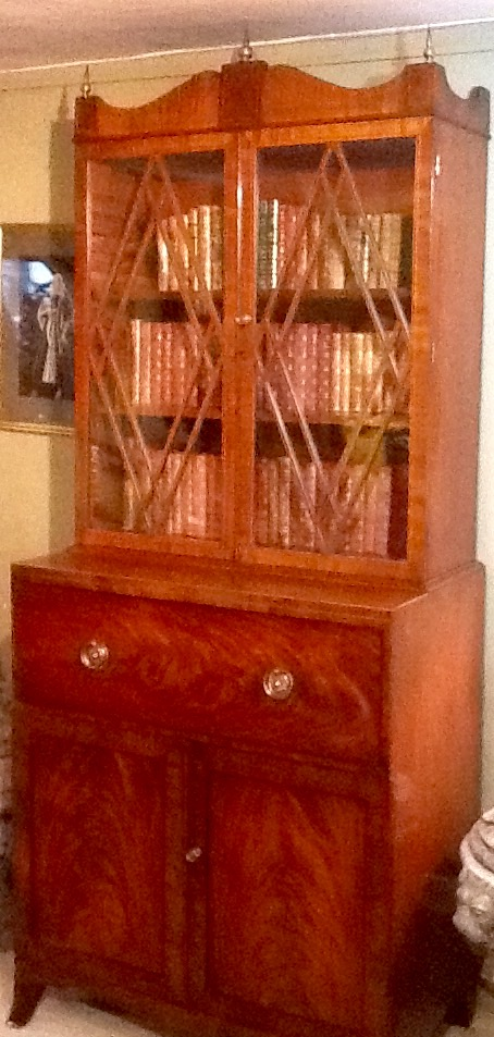 Regency Secretaire Bookcase c1820