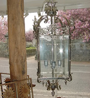 Silver Plated Lantern
