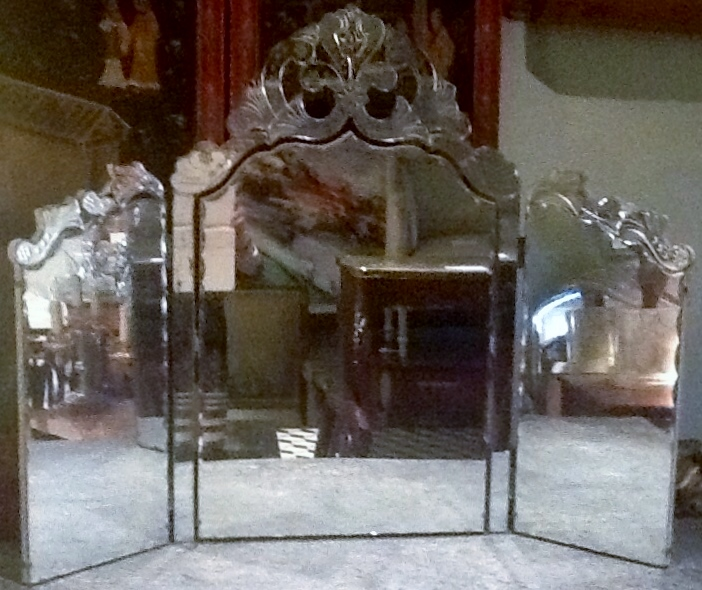 Venetian Dressing Table Mirror Antique Sold Items